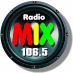 Logo da emissora Radio Mix 106.5 FM
