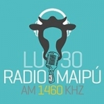 Logo da emissora Radio Maipú 1460 AM