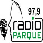 Logo da emissora Rádio Parque