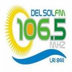 Logo da emissora Radio Del Sol 106.5 FM
