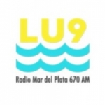 Logo da emissora Radio Mar del Plata 670 AM