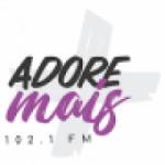 Logo da emissora Rádio Adore Mais 102.1 FM