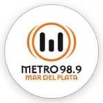 Logo da emissora Radio Metro 98.9 FM
