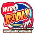 Logo da emissora Rádio Efatá Arapiraca