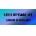 Logo da emissora Rádio Difusora Net