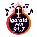 Logo da emissora Rádio Igaratá 91.7 FM