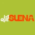 Logo da emissora Radio La Que Suena 106.8 FM