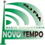 Logo da emissora Rádio Novo Tempo 98.3 FM
