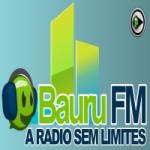 Logo da emissora Rádio Bauru FM