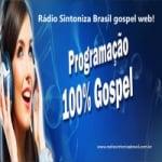 Logo da emissora Rádio Sintoniza Brasil Gospel