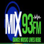 Logo da emissora Radio Mix 93 FM
