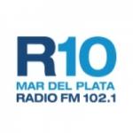 Logo da emissora Radio 10 102.1 FM