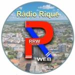 Logo da emissora Rádio Rique Web