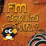 Logo da emissora Radio Carolina 102.9 FM
