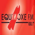 Logo da emissora Radio Equinoxe 100.1 FM