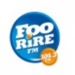 Logo da emissora Radio FooRire 104.3 FM