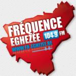 Logo da emissora Radio Fréquence Éghezée 104.9 FM