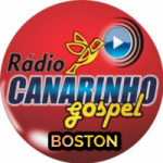 Logo da emissora Rádio Canarinho Gospel Boston