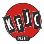 Logo da emissora Radio KFJC 89.7 FM