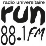 Logo da emissora Radio Universitaire Namuroise La Run 107.1 FM