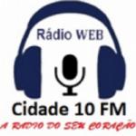 Logo da emissora Web Rádio Cidade 10 FM