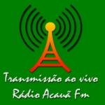 Logo da emissora Rádio Acauã 87.9 FM
