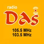 Logo da emissora Radio DAS 105.5 FM