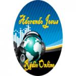 Logo da emissora Rádio Online Adorando Jesus