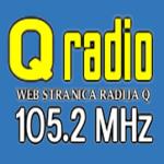 Logo da emissora Radio Q 105.2 FM