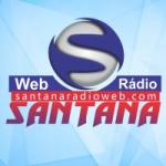 Logo da emissora Santana Rádio Web