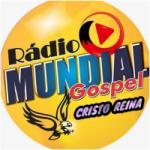 Logo da emissora Rádio Mundial Gospel Cristo Reina