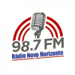 Logo da emissora Rádio Novo Horizonte FM