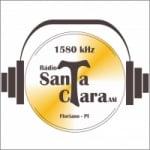 Logo da emissora Rádio Santa Clara 1580 AM