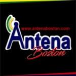 Logo da emissora Antena Boston