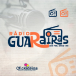 Logo da emissora Rádio Guarairas FM