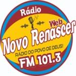 Logo da emissora Rádio Novo Renascer FM