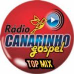 Logo da emissora Rádio Canarinho Gospel Top MIx