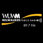 Logo da emissora WUWM 89.7 FM
