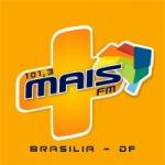 Logo da emissora Mais FM Brasília