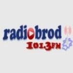 Logo da emissora Radio Brod 101.3 FM