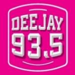 Logo da emissora Radio Deejay 93.6 FM