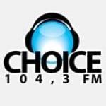 Logo da emissora Radio Choice 104.3 FM