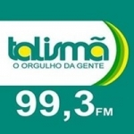 Logo da emissora Rádio Talismã 99.3 FM