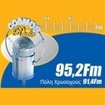 Logo da emissora Radio Cosmos 95.2 FM
