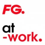 Logo da emissora Radio FG At-Work