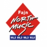 Logo da emissora Fajn North Music 95.2 FM