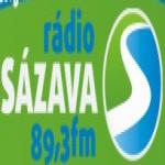 Logo da emissora Radio Sázava 89.3 FM