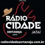 Logo da emissora Rádio Cidade Sertaneja