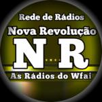 Logo da emissora Rádio Nova Revolução Funk