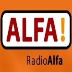 Logo da emissora Radio Alfa Sydfyn 106.5 FM